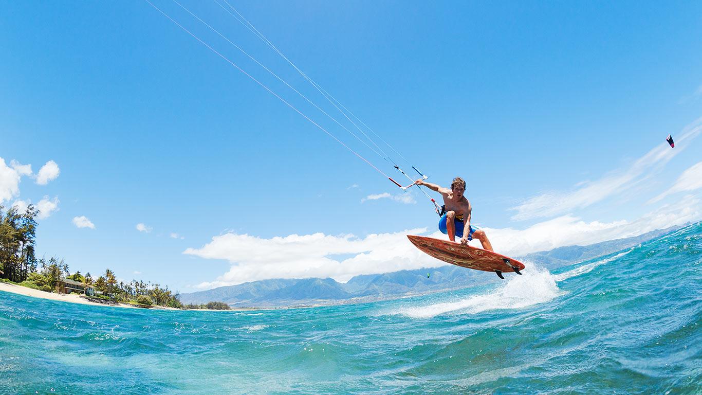 Kitesurfing and Kiteboarding